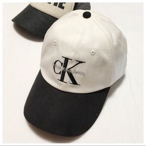 👀 Calvin Klein Logo Cap